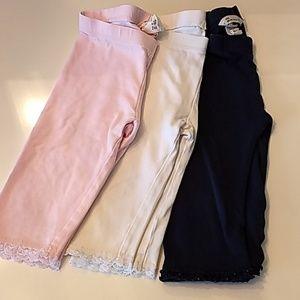 H&M Bundle of Girls leggings, 1-1/2 to 2 years